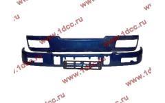Бампер C синий верхний+нижний (в сборе) фото Ставрополь