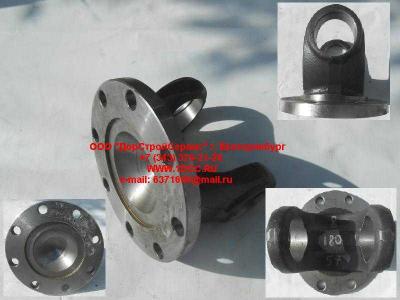 Фланец карданного вала D-180, 8 отв., гладкий, под крест. d-57 H HOWO (ХОВО)  фото 1 Ставрополь