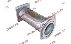 Гофра-труба выхлопная с квадратными фланцами FN для самосвалов фото Ставрополь